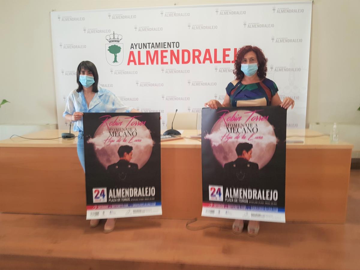 Almendralejo rendirá  homenaje al grupo Mecano con un concierto el 24 de julio