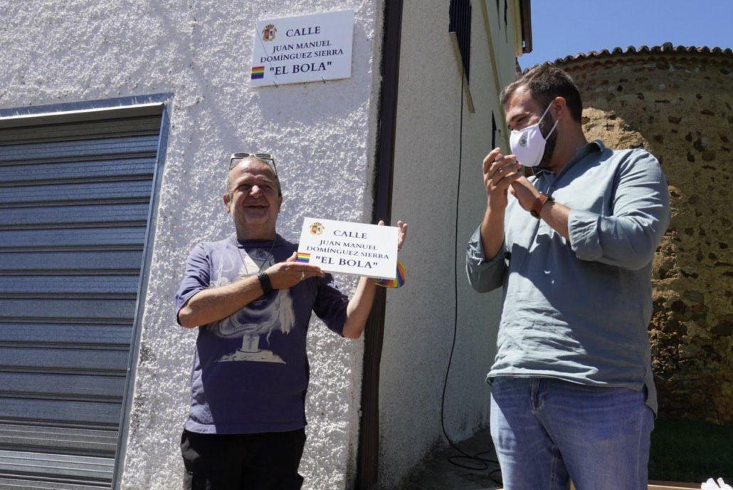 """El actor """"El Bola"""" ya tiene una calle con su nombre en la ciudad de Cáceres"""