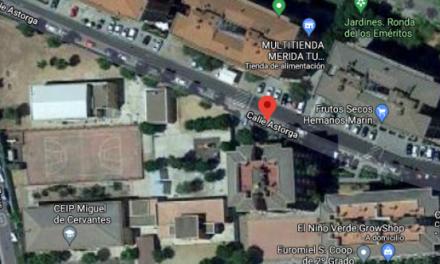 Fallece un hombre de 69 años tras caer de un tejado en Mérida