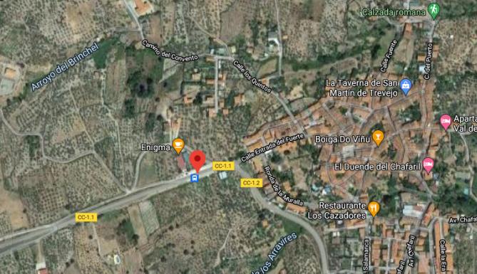 Dos mujeres de 20 y 23 años resultan heridas en un accidente registrado en San Martín de Trevejo