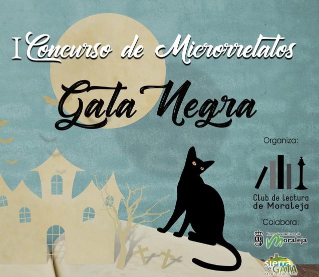 El Club de Lectura de Moraleja organiza el primer concurso de microrrelatos 'Gata Negra'