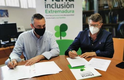 Plena Inclusión y el Festival de Mérida firman un convenio para mejorar la accesibilidad cognitiva