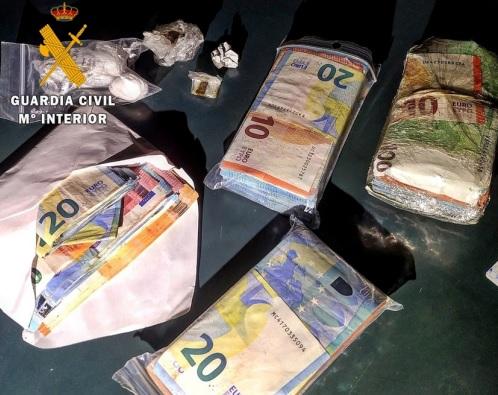 Detenido en Badajoz un ciudadano portugués por tráfico de drogas