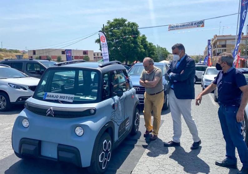 """El presidente de ASECOC asegura que la feria del vehículo de Coria ha sido """"todo un éxito"""""""