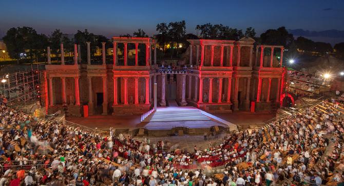 La Junta pedirá a la Unesco que el Festival de Teatro de Mérida sea Patrimonio de la Humanidad