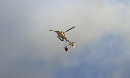 El Infoex declara el nivel 1 de peligrosidad por dos incendios registrados en Calzadilla y Zarza la Mayor