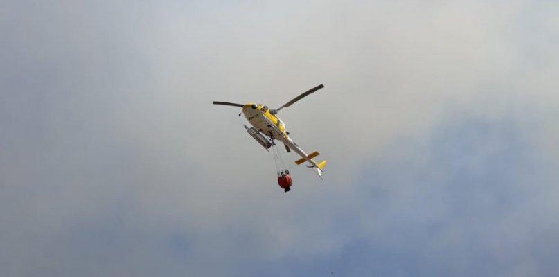 Desactivado el nivel 1 de peligrosidad por un incendio forestal declarado cerca de Barcarrota