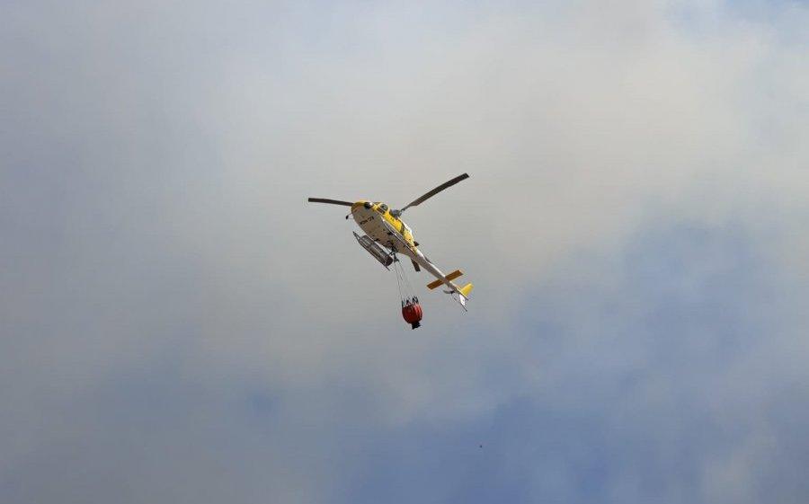 El Infoex declara el nivel 1 de peligrosidad por un incendio registrado entre Alange y La Zarza
