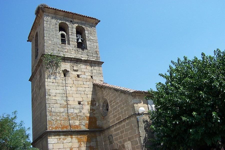 La Junta paraliza las obras de la iglesia de Villar de Plasencia que afectaban a nidos de aves protegidas