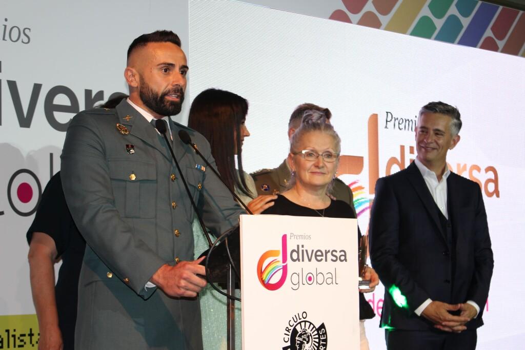 El cauriense José Pedro Sageras es galardonado con el premio Diversia de Oro