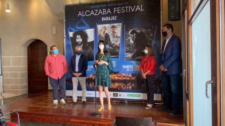 Tabuerete, Manuel Carrasco y Ara Malikian actuarán en el Alcazaba Festival de Badajoz