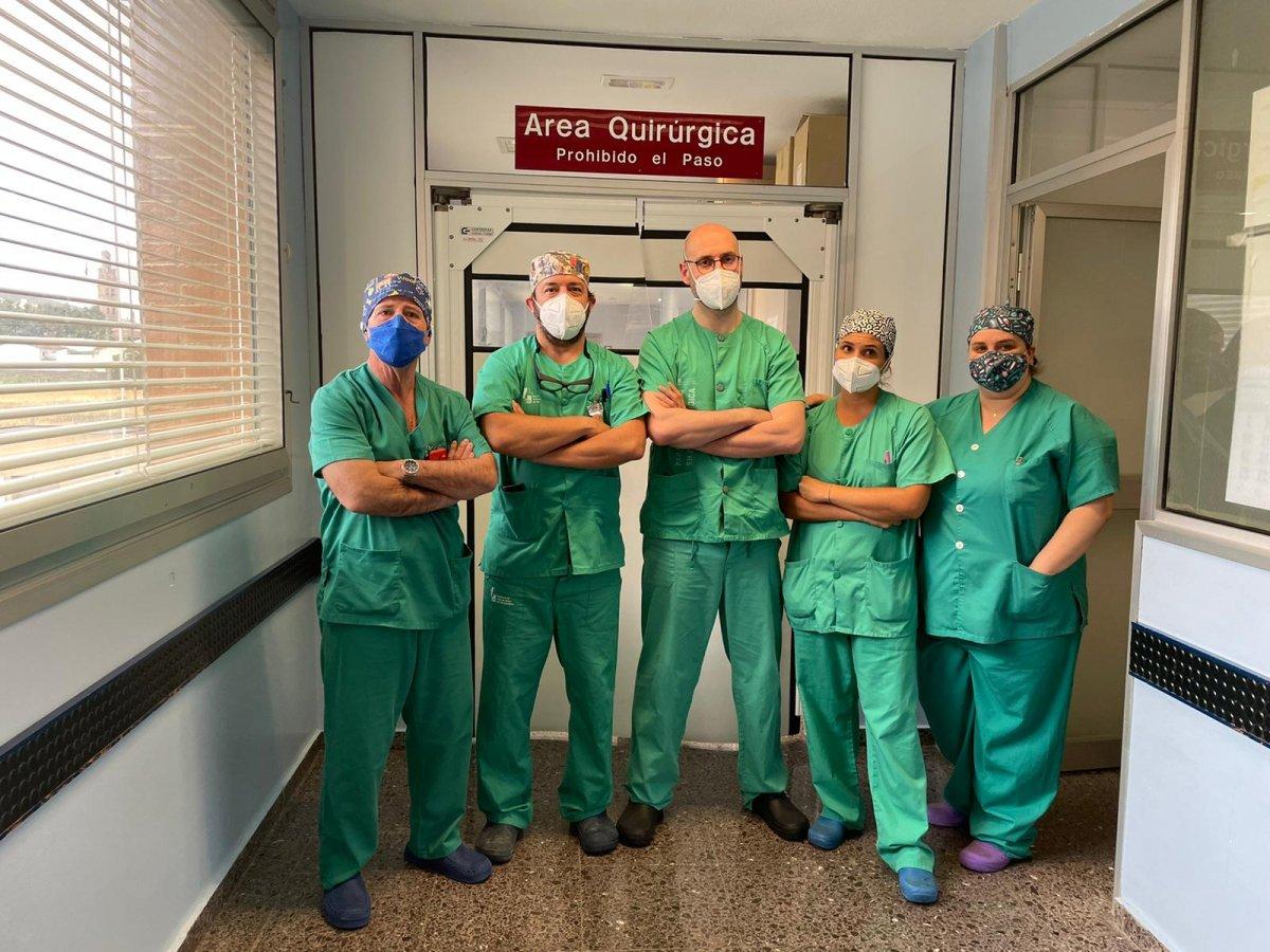 El área de Llerena-Zafra comienza a realizar operaciones urológicas con técnicas poco invasivas