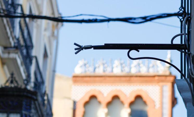 Preparado el sistema de microclima de Mérida para refrescar este verano las calles del centro