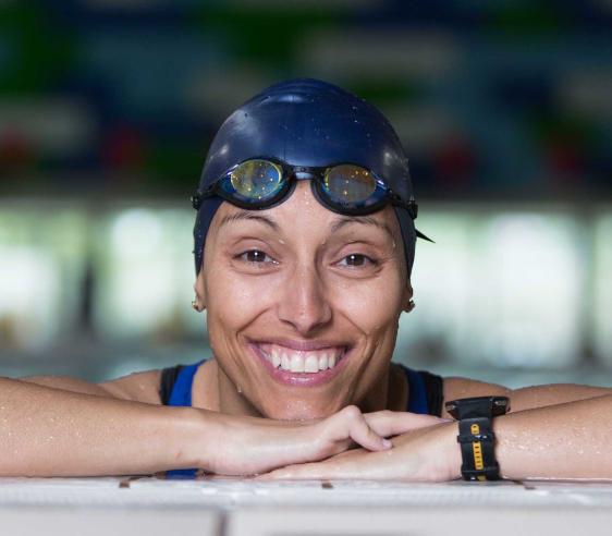 Satisfacción en Acebo por el Premio Princesa de Asturias para la nadadora Teresa Perales