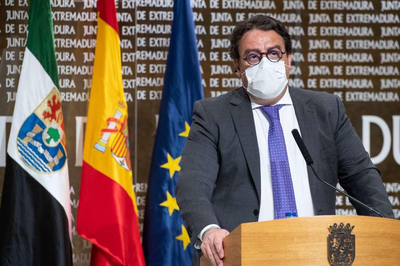 La Junta espera que Extremadura logre la inmunidad de grupo frente a la Covid-19 en  julio