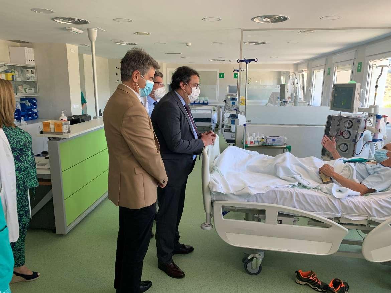 Sanidad renovará las urgencias del hospital de Plasencia para hacerlas más accesibles