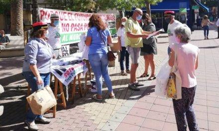 La plataforma 'No al muro' de Navalmoral de la Mata realizará este jueves una nueva concentración
