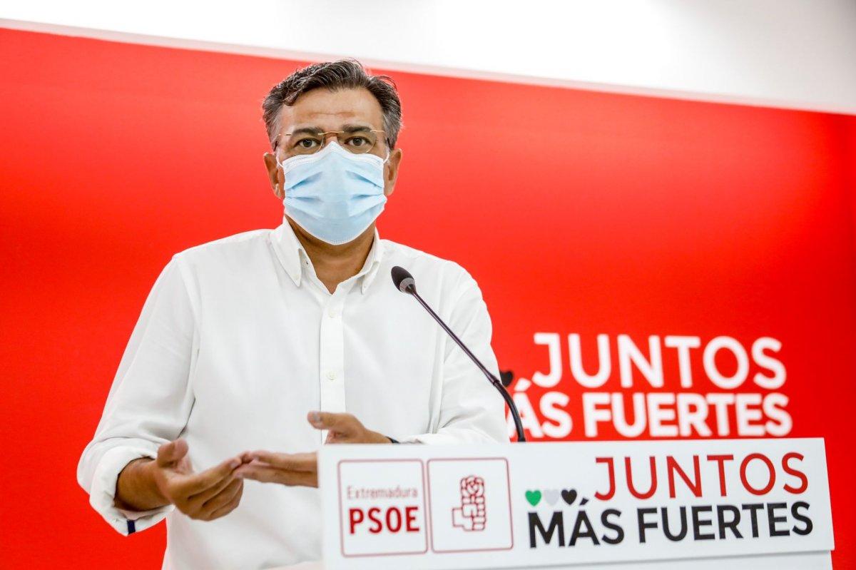 El PSOE  asegura que la región va a alcanzar en breve el 70% de personas inmunizadas