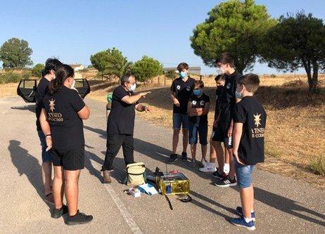 Estudiantes de Cáceres lanzarán este domingo una sonda espacial que alcanzará 36 kilómetros de altura