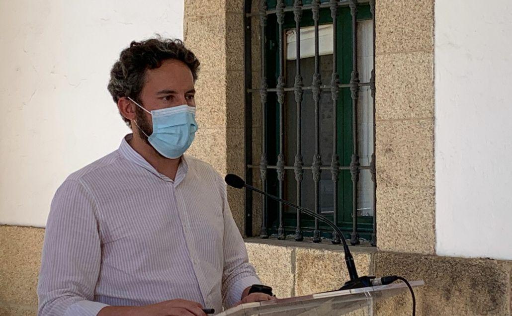 """Andrés Licerán: """"La situación de la pandemia en la ciudad sigue siendo muy preocupante"""""""