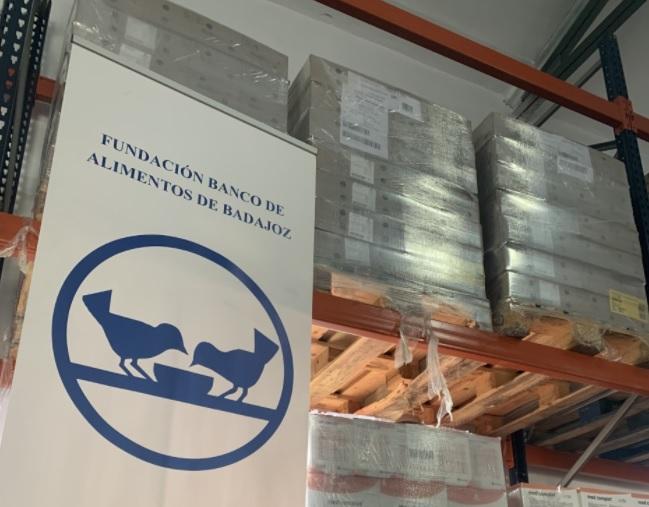 El Banco de Alimentos de Badajoz realizará esta semana una nueva recogida de alimentos