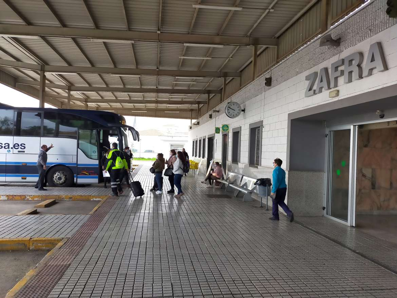 La Junta destina 75.567 euros para la mejora de las estaciones de autobuses de Zafra y Don Benito