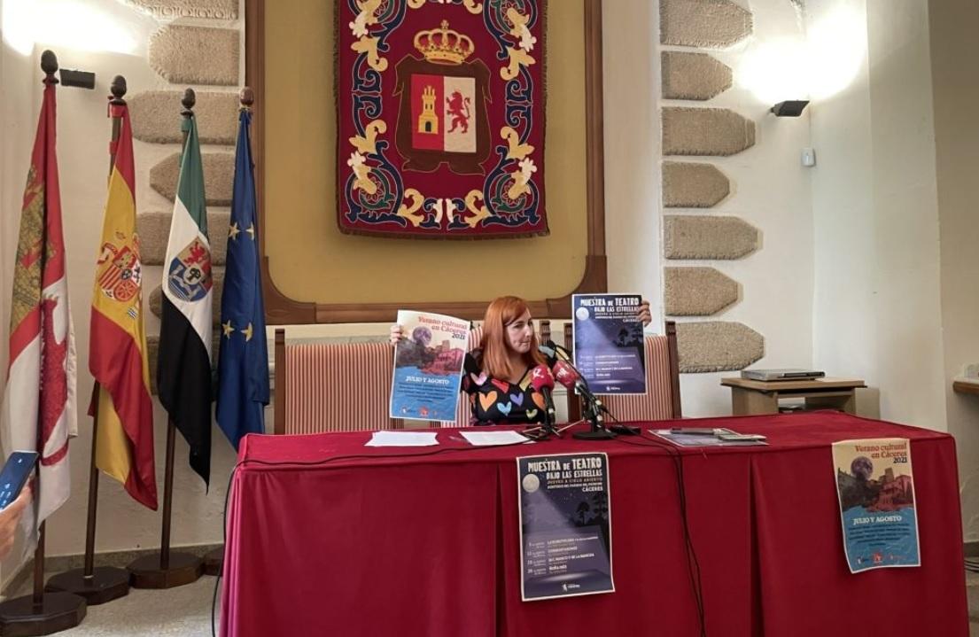 Cáceres completa su agenda cultural de verano con más de 60 actividades para todos los públicos