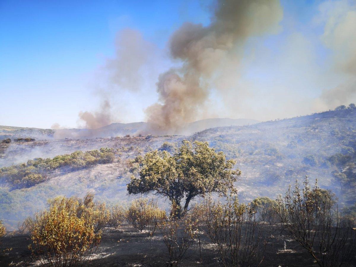 El 16 de octubre arranca en Extremadura la época de peligro bajo de incendios