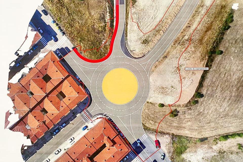 Ballestero anuncia que el Ayuntamiento de Coria construirá una glorieta en la avenida de Monseñor Riveri