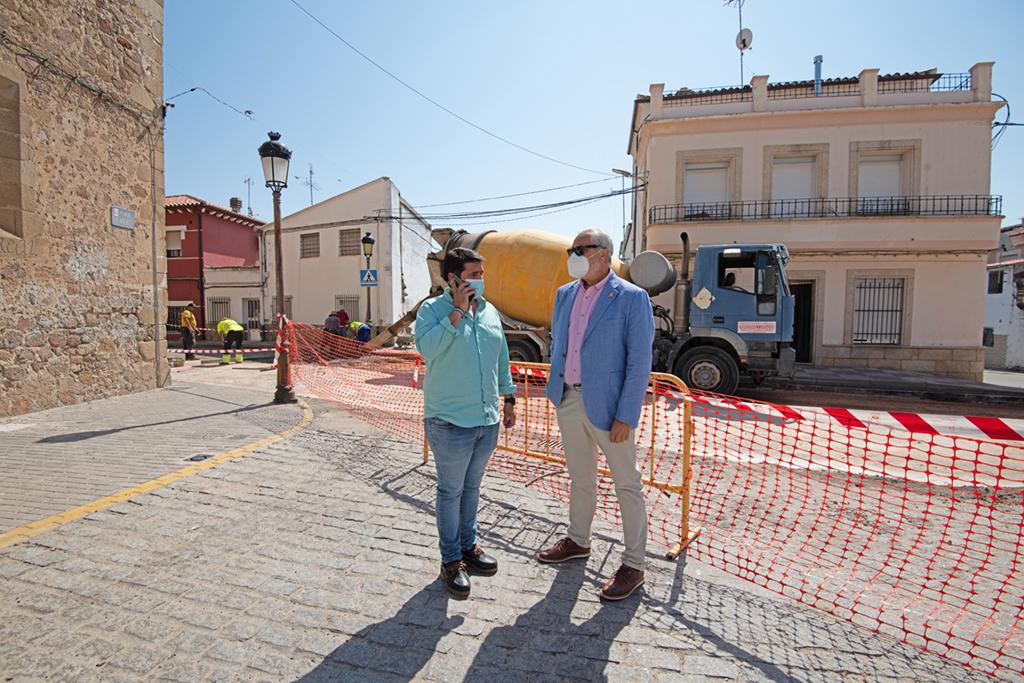 """Diputación pide a CHT una """"solución inmediata"""" para solventar el problema del agua en Talayuela"""