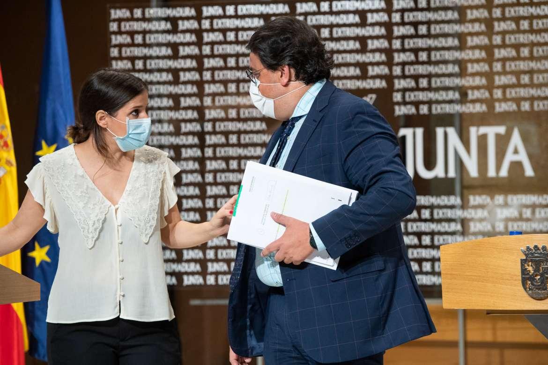 """Sanidad asegura que la situación de la pandemia es """"complicada"""" en Extremadura que está en alerta 1"""