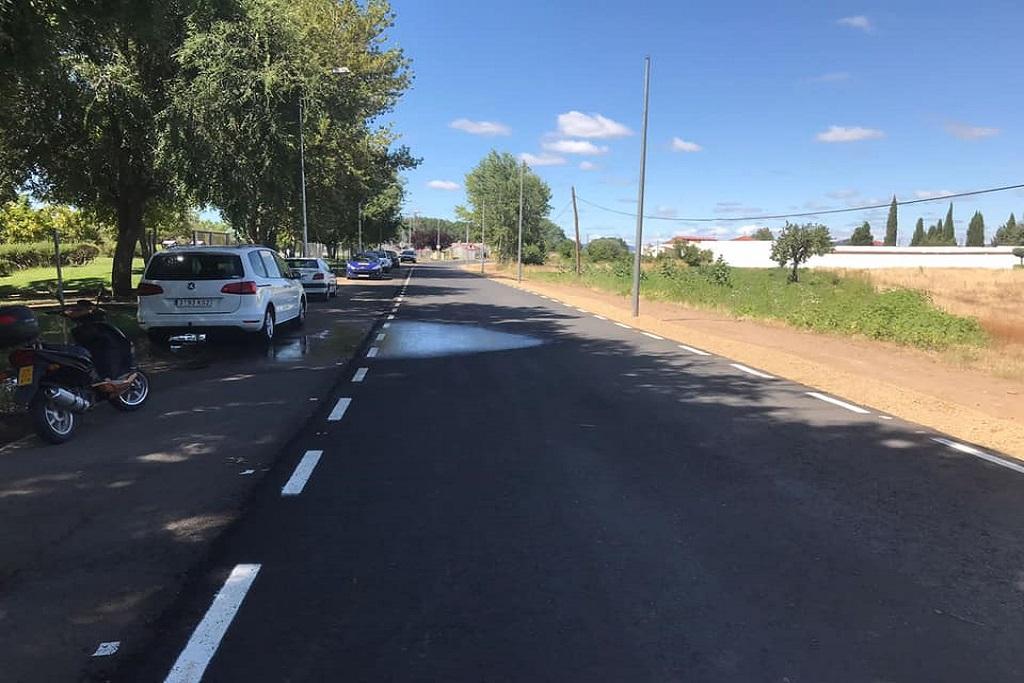 Finalizan las obras de mejora de la carretera CC-3.1 que une Moraleja con la Sierra de Gata