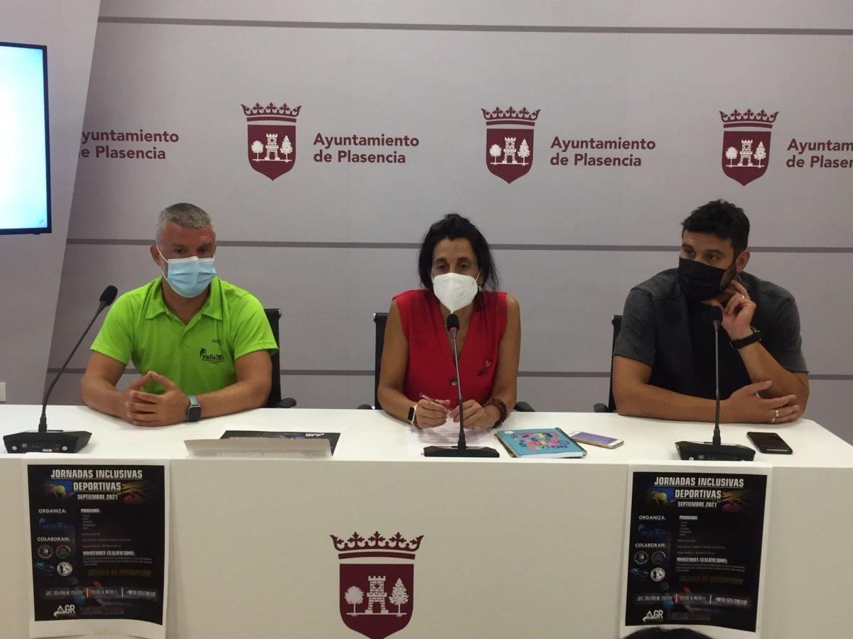 Plasencia contará con unas jornadas deportivas inclusivas del 30 de agosto al 9 de septiembre