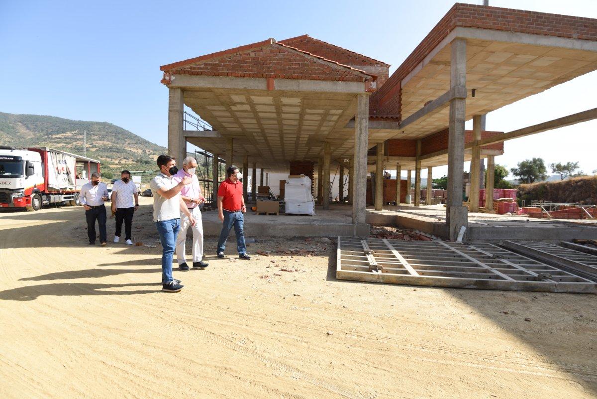 """Avanzan a """"buen ritmo"""" las obras del nuevo parque del SEPEI en Guadalupe"""