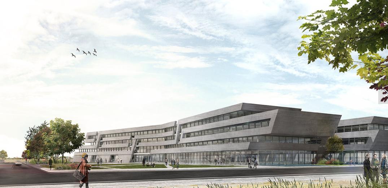 Formalizado el contrato de obras de la primera fase de la nueva facultad de Medicina