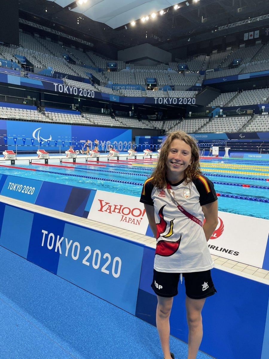 Nahia Zudaire, la nadadora paralímpica de raíces torrejoncillanas aterriza en los Juegos Paralímpicos de Tokio