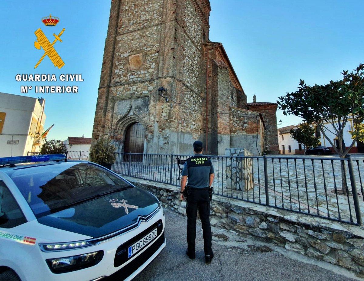 La Guardia Civil esclarece varios robos perpetrados en la comarca de Llerena