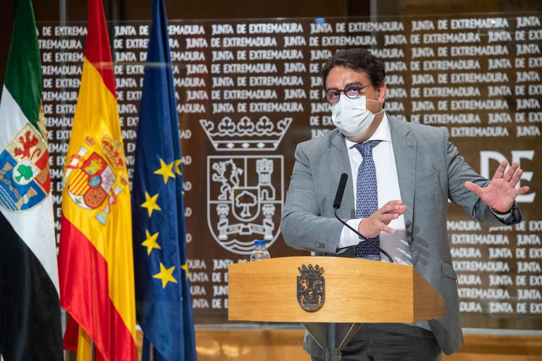La Junta solicitará el nivel de alerta 3 para el área de salud de Cáceres y varios cierres perimetrales