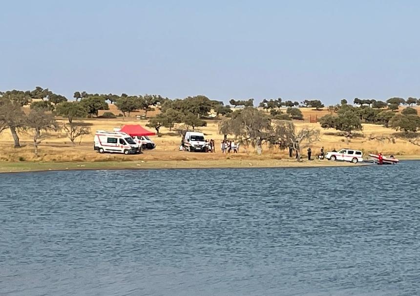 Un hombre de 45 años fallece ahogado en el embalse de Villalba de los Barros
