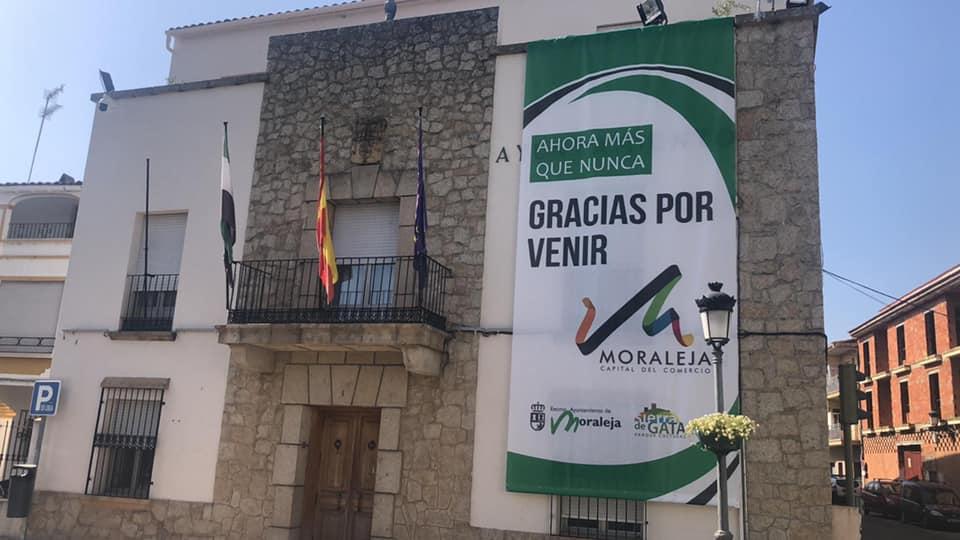 """Moraleja apuesta por el comercio local con la campaña """"Ahora más que nunca, gracias por venir"""""""