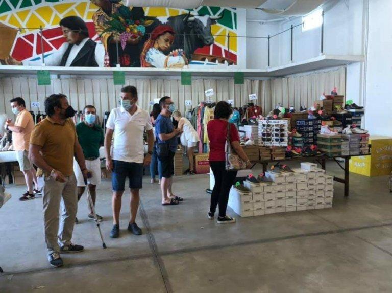 Unas 1.500 personas y once expositores hacen que la XX Feria del Stock de Moraleja sea un éxito