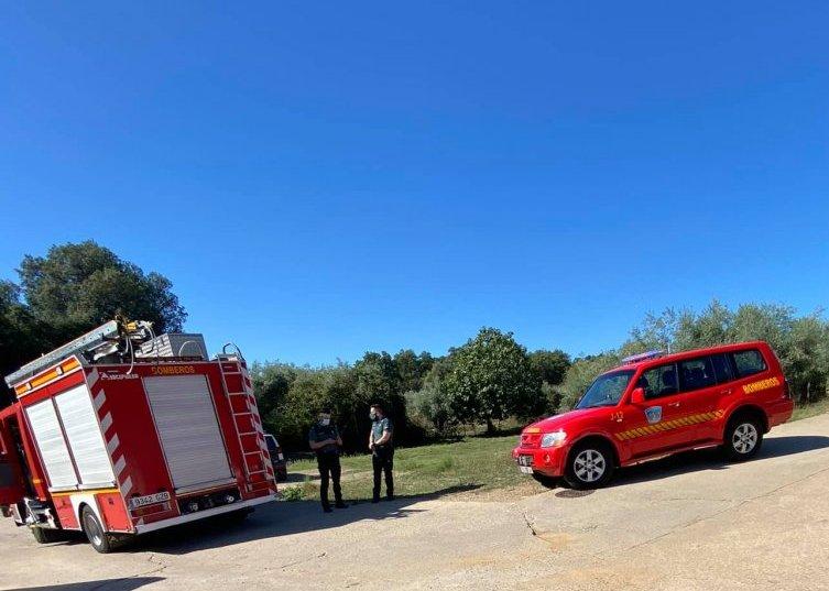 Un aparatoso incendio daña la cocina de la residencia de mayores de Perales del Puerto