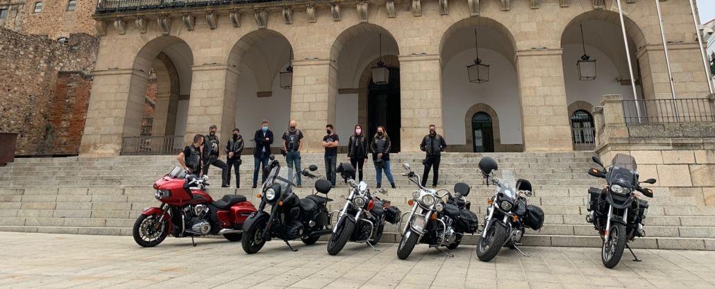 Cáceres acogerá desde este viernes una nueva edición de la concentración motera de los Buitres Leonados