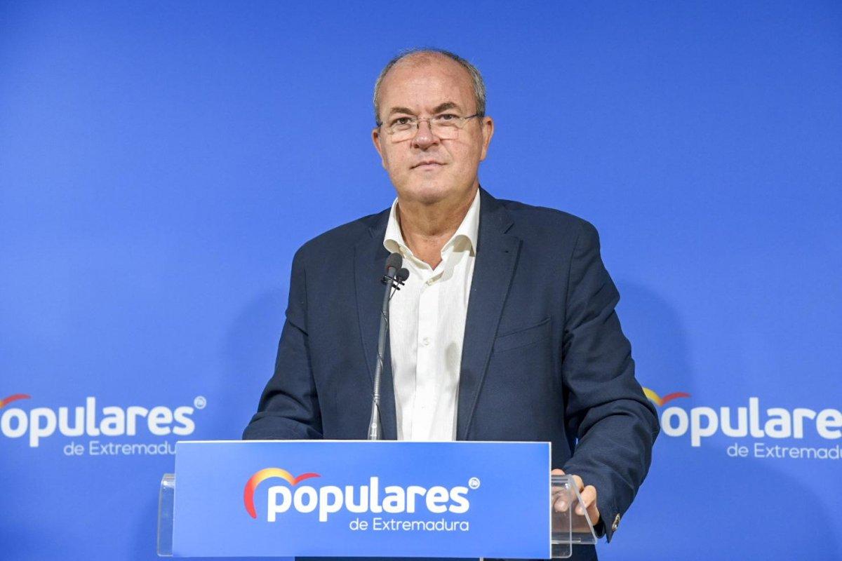 Monago anuncia una campaña del PP para denunciar los recortes de Vara en las zonas rurales