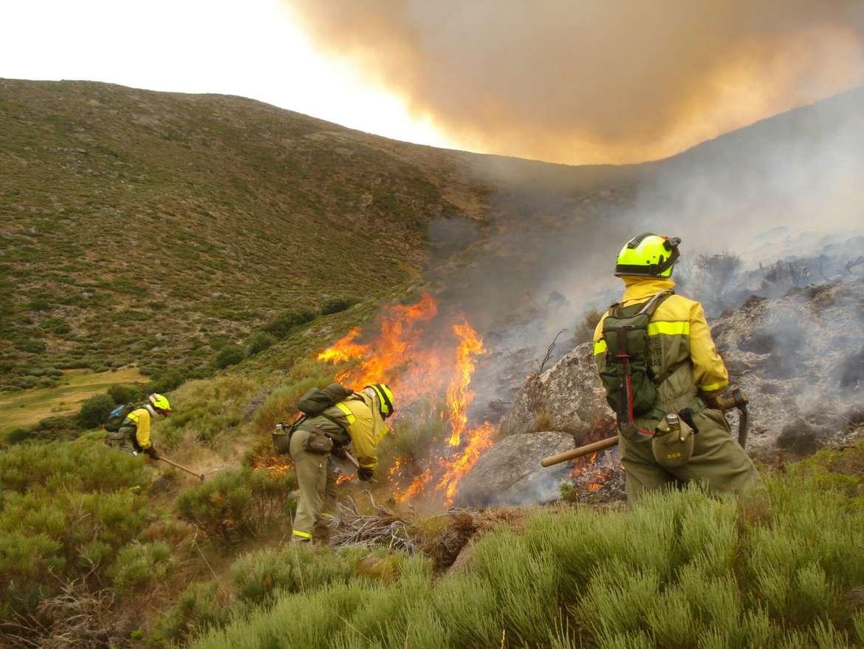 El fuego calcina 120 hectáreas forestales en los últimos siete días en Extremadura