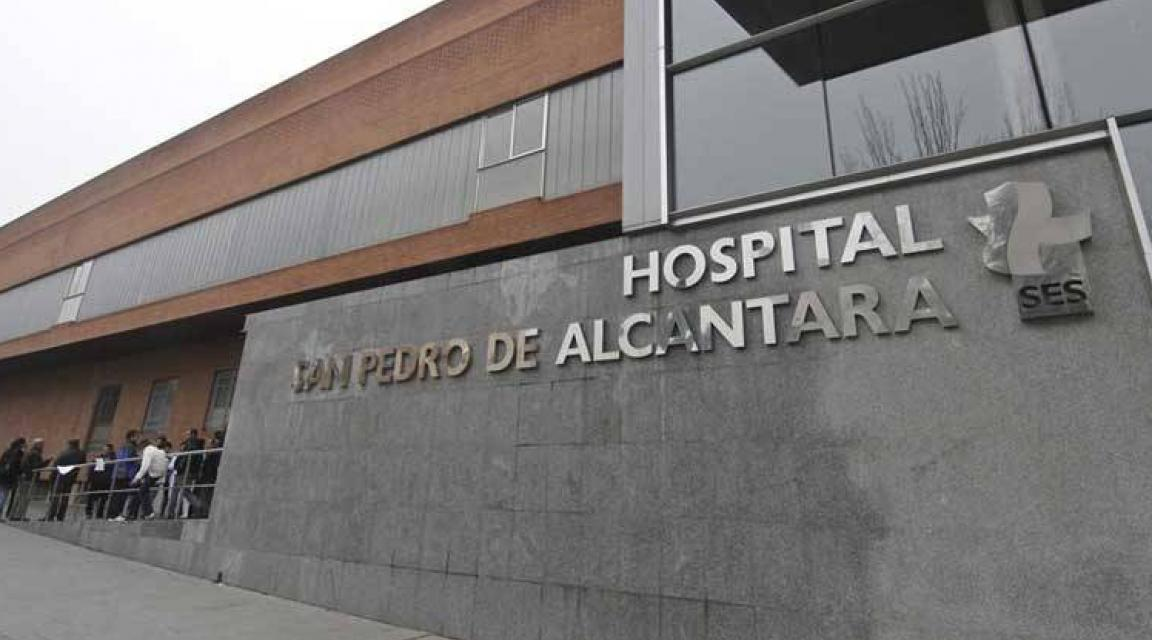 Un bebé de 14 meses resulta herido en Pizarro tras sufrir una caída en su domicilio