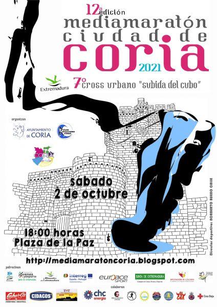 Coria retomará el 2 de octubre su popular media maratón tras el parón del pasado año