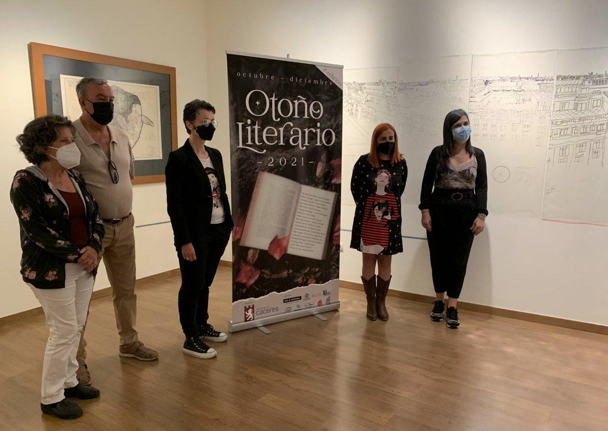Más de 30 escritores participarán en el II Otoño Literario de Cáceres