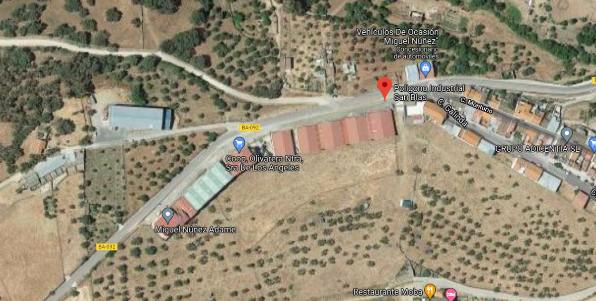 ÚLTIMA HORA: En estado crítico un trabajador de 47 años tras caer de varios metros de altura en una fábrica de Fuentes de León