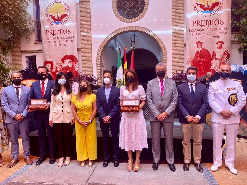 Sanlúcar premia al pueblo extremeño por su vinculación con la primera vuelta al mundo